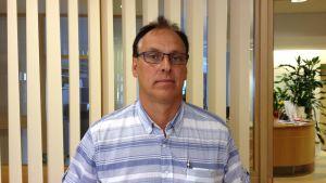 Jakobstads bildningsdirektör Jan Levander.