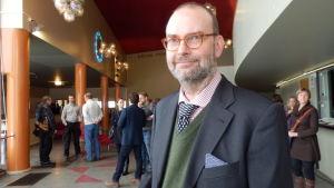 Kai Kartio, direktör för både gamla och nya Amos-museet.