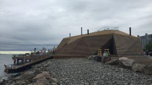 Sauna Löyly, Hernesaari