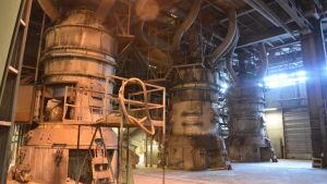 Kolkvarnar på kolkraftverket i Ingå