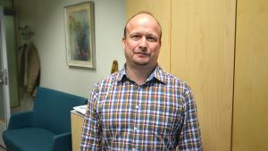Joakim Häggström, biträdande rektor för Tölö Gymnasium