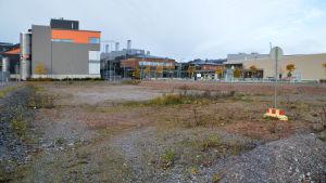 Bild på byggnaderna i Konstfabriken.