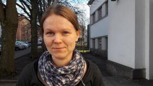Anna-Maija Koskimies-Hellman, pedagogisk informatiker på Vasa stadsbibliotek.