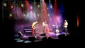 Svenska Kaputt på scen i Kerava Jazz