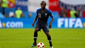 N'Golo Kanté har övertygat i rollen som mittfältsgeneral.