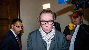 Den så kallade Kulturprofilen - Jean-Claude Arnault då han anlände till Stockholms tingsrätt på onsdagen 19.9.2018.