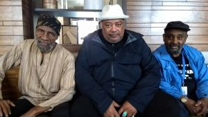 The Last Poets uppträder på Edinburgh Intenational Book Festival