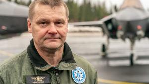 HX-hankkeen johtaja, eversti Juha-Pekka Keränen.