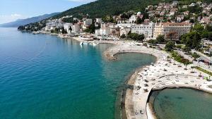 Opatija Riviera i Kroatien 1.7.2020