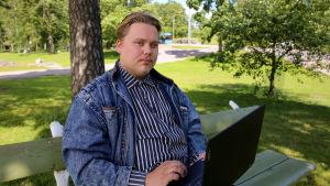 Aleksi Sandroos, Vaasan ylioppilaskunnan puheejohtaja