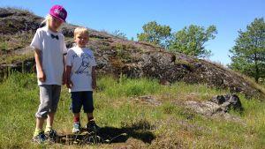 Ola och Svante Strömberg har gått rundturen Amiralen och den försvunna lotsen.