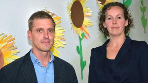 Markus Paloheimo och Emilia Horttanainen.