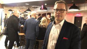 Veijo Komulainen är businessexpert på Finlands konsulat i New York