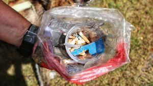 cigarettfimpar i påse