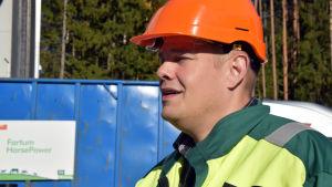 Anssi Paalanen, biträdande direktör för Fortum Horse Power