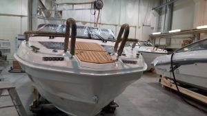 Finnmaster Boats i Karleby.