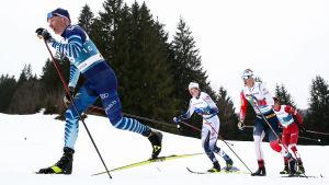Iivo Niskanen i VM 2021.