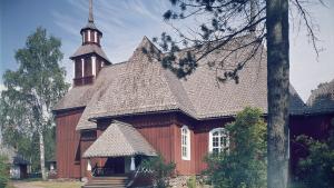 Keuruun vanha kirkko.