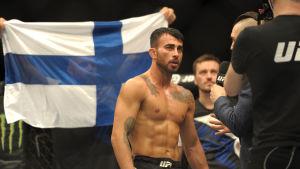 Makwan Amirkhani i ringen 2016.