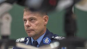 Ansiktsbild på chefen för Centralkriminalpolisen, Robin Lardot