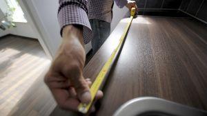 Mätning av avstånd i bostad