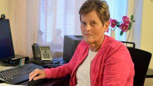 Elisabeth Smedman, direktör på studenthälsovården i Vasa.