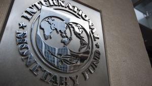 Internationella valutafondens symbol.