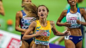 Pryshchepa vinner 800m i EM i berlin
