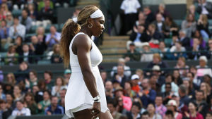 Serena Williams, tennisspelare.