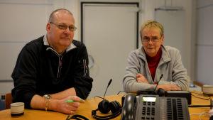 Egon Blomqvist och Lena Selén i fredagssnack 19.2.16