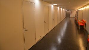 Korridor i Novia i Åbo.