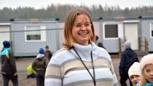 Pamela Bäckman, rektor för Grännäs skola