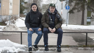 Författarna Pekka Salminen och Miikka Niiranen