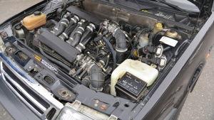 V8:an utvecklades i hemlighet på Saabs bilfabrik i Nystad
