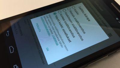 paras kytkennät apps Android 2014