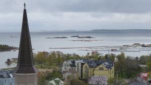 Hotell regatta, fabriksudden och Östra hamnen i Hangö.