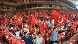 Turkisk publik.