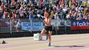 Högstadier 4x100 m, Stafettkarnevalen 2018.
