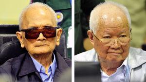 Röda khmerernas ledare är vid det här laget gamla män.