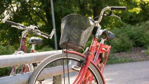 bild på cyklar