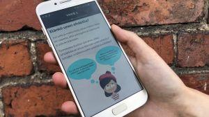 En mobilapplikation för personer som lider av sömnlöshet.