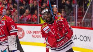 Ishockeyspelaren Daniel Muzito Bagenda