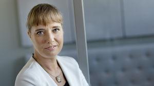 Porträtt på Sabina Lindström.