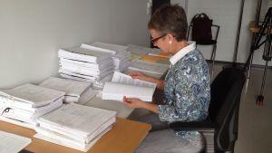 Förvaltningsrättsdomare Kirsi Särkilä vid Åbo förvaltningsdomstol