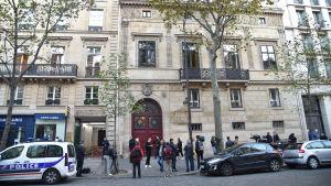 Kim Kardashian rånades på sitt hotellrum i Paris den 3 oktober 2016.