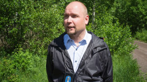 Christian Blomqvist utreder miljöbrott i Östra Nyland