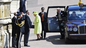 Drottning Elisabeth II och prins Philip