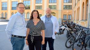 Sören Kock, Nina Ingves och Joakim Bonns