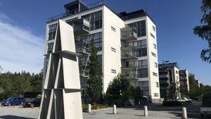 Våningshus i Sunnanvik i Vasa.