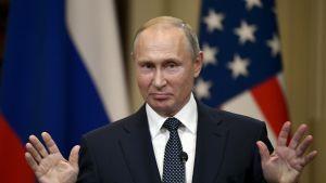 Vladimir Putin - Presskonferens